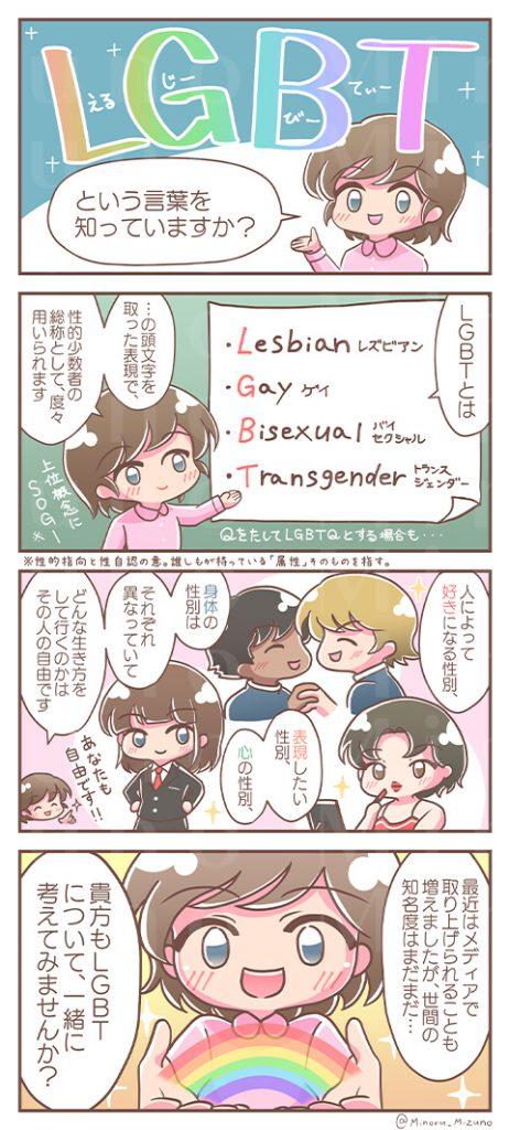 LGBT解説4コマ